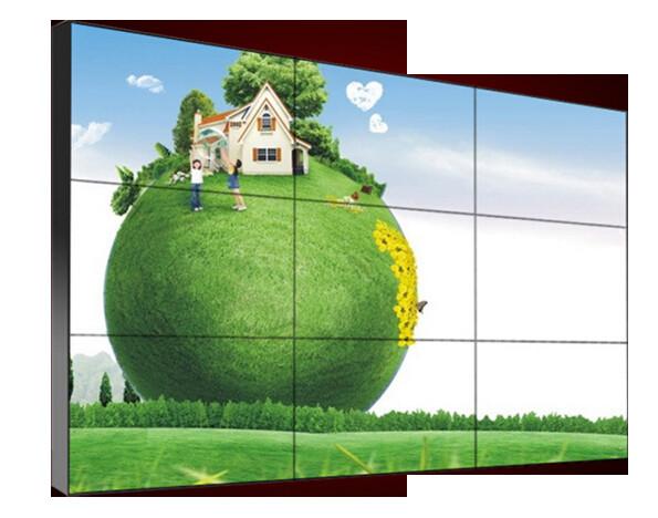 液晶拼接屏尺寸拼接墙效果图带尺寸