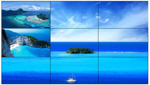 供应三星55寸液晶拼接屏,尺寸参数图片。